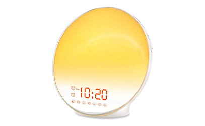 Wake Up Light Sunrise Alarm Clock for Kids product image