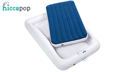 hiccapop product image travel bed for toddler