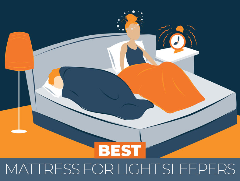 highest rated beds for light sleepers