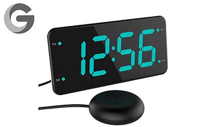 lielongren Loud Alarm Clock with Bed Shaker product image
