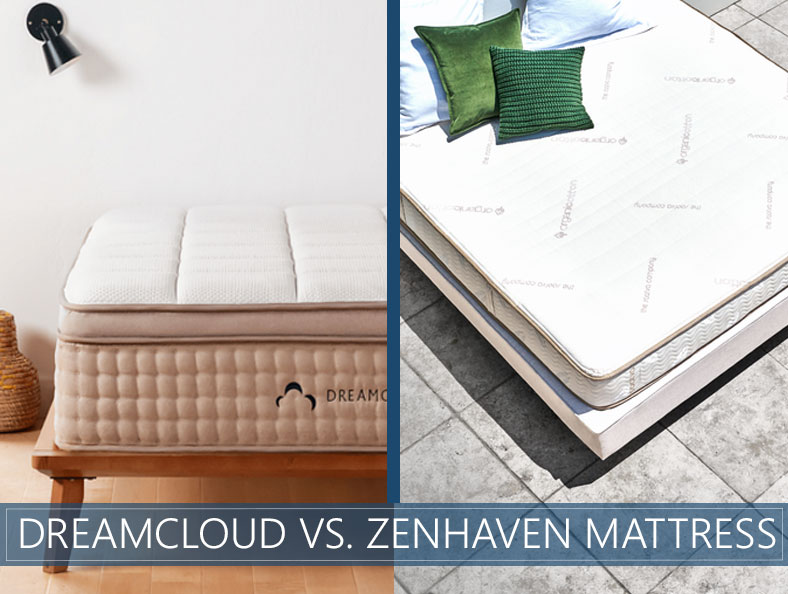 our comparison of dreamcloud and zenhaven
