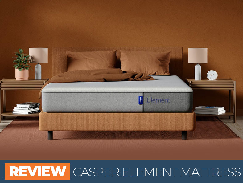 our full casper element bed overview
