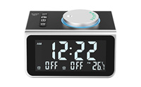 product image LATME-Alarm-Clock-Radio-for-Heavy-Sleepers W Dual Alarms small