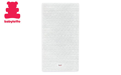 product image of Babyletto Pure Core Non-Toxic Mini Crib Mattress with Hybrid Waterproof Cover