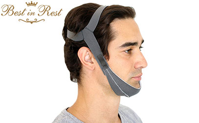 product image of Best in Rest Premium Chin Strap, Adjustable Effective Anti Snoring Sleep Aid Solution small