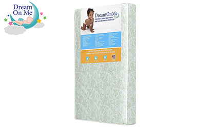 product image of Dream On Me Two Sided Mini Portable Crib Foam Mattress