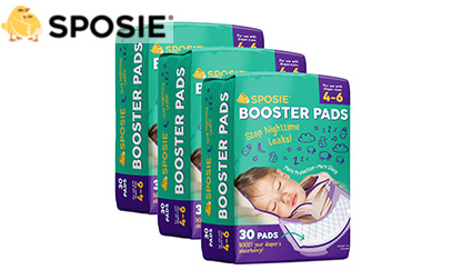 product image of Sposie Overnight Diaper Booster Pads