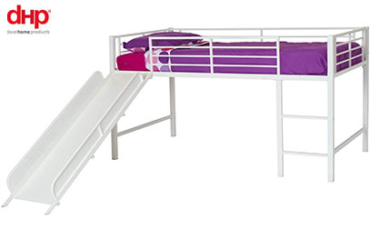 product image of dhp junior loft bed with slide