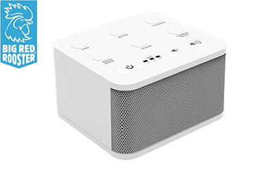Big Red Rooster 6 Sound White Noise Machine product image