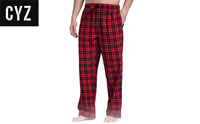 product image of cyz pajamas for man red small