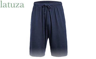 Latuza Men's Pajama Bottom Shorts product image small