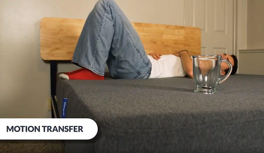 Motion Isolation Test on Casper Element