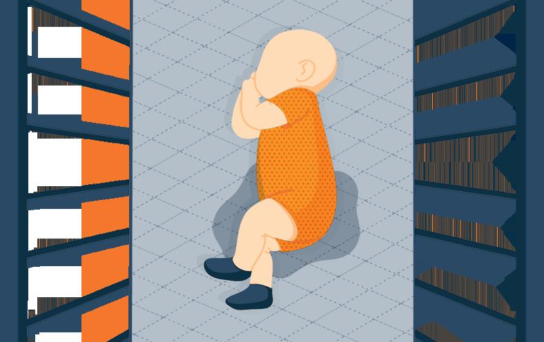 Quilted Crib Mattress Pad Illustration