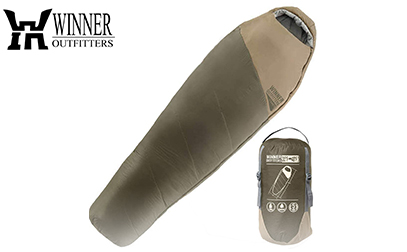 WINNER OUTFITTERS Mummy Sleeping Bag with Compression Sack product image