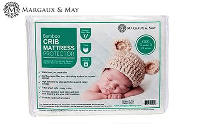 product image of Margaux and May crib mattress pad