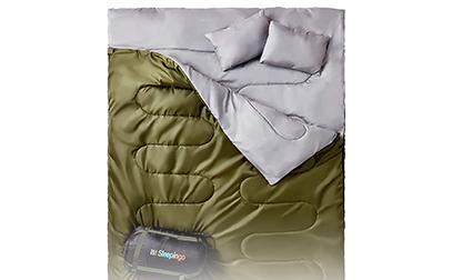product image of Sleepingo Double Sleeping Bag for Backpacking