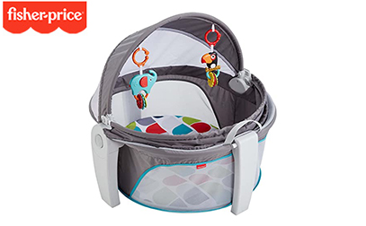 product image of fisher price travel crib updated