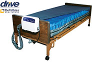Drive Medical Med Aire Low Air Loss Mattress Replacement System with Alarm product image small