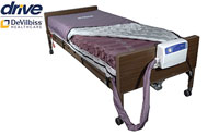 Drive Medical Med Aire Low Air Loss Mattress Replacement System with Alternating Pressure product image small