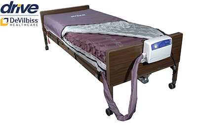 Drive Medical Med Aire Low Air Loss Mattress Replacement System with Alternating Pressure product image