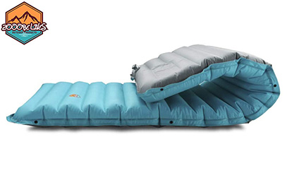 ZOOOBELIVES Extra Thickness Inflatable Sleeping Pad with Built-in Pump product image