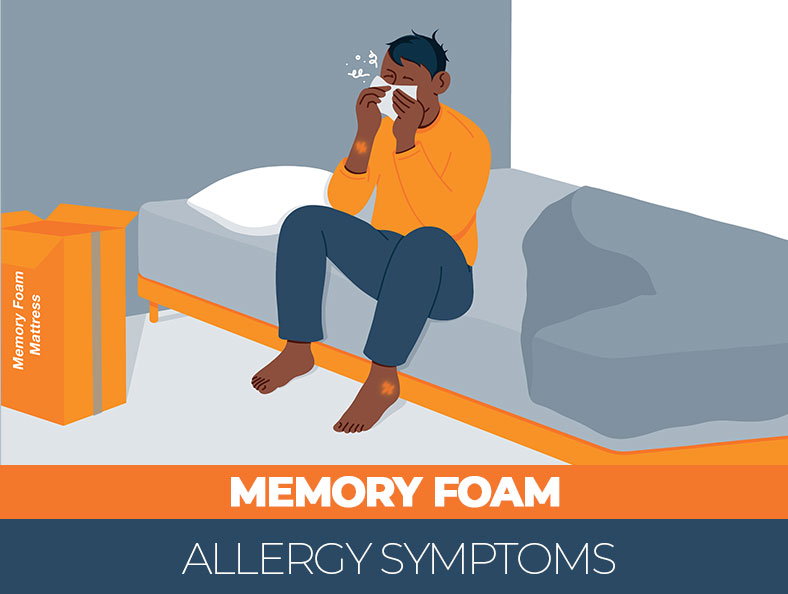 how to avoid the allergies on memory foam
