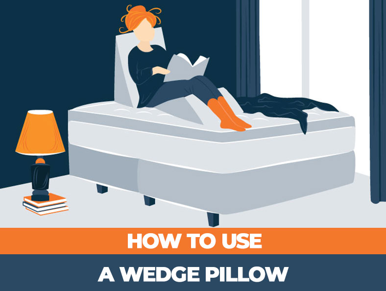 how you can use a wedge pillow