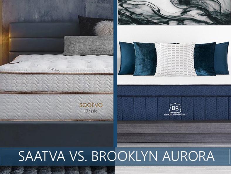 our comparison of saatva and brooklyn aurora