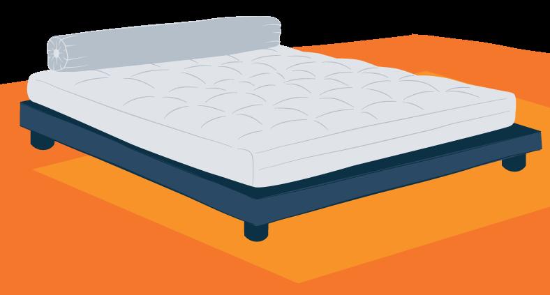 Illustration of a Futon Bed