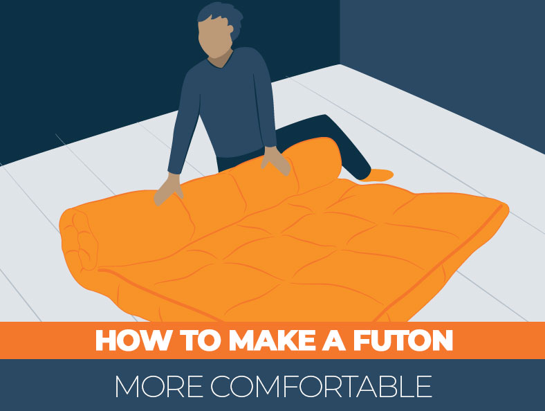 Tips on how to make a futon more comfortable