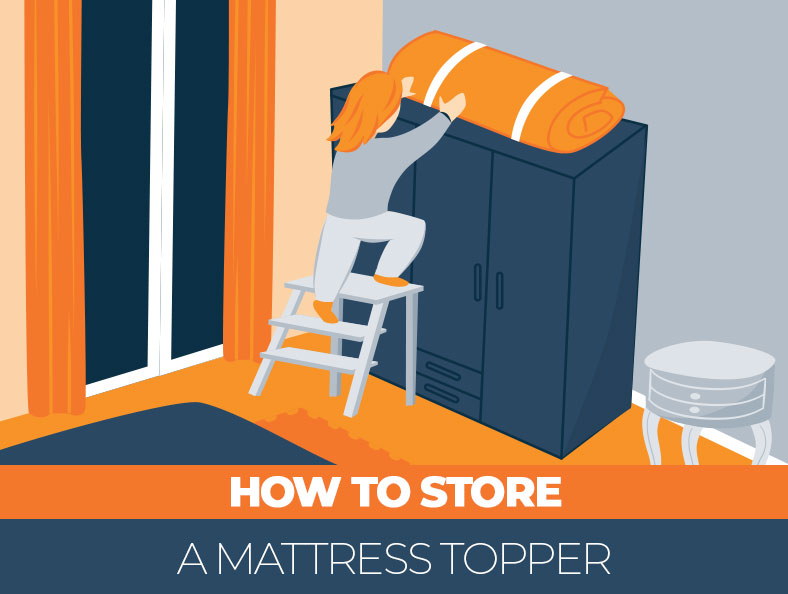 Tips on how to store a mattress topper