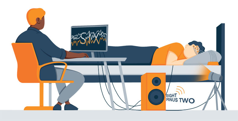 Illustration of a Dream Experiment During the REM Sleep