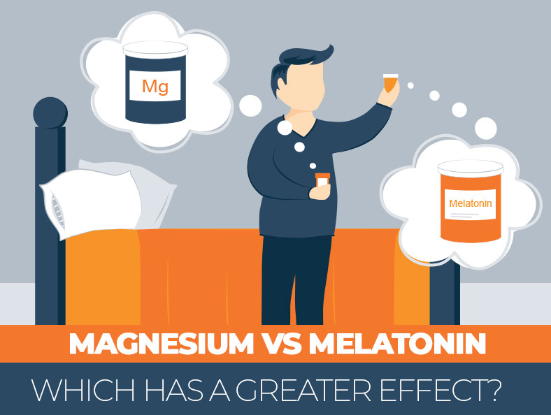 What is better to take before you go to sleep - magnesium or melatonin