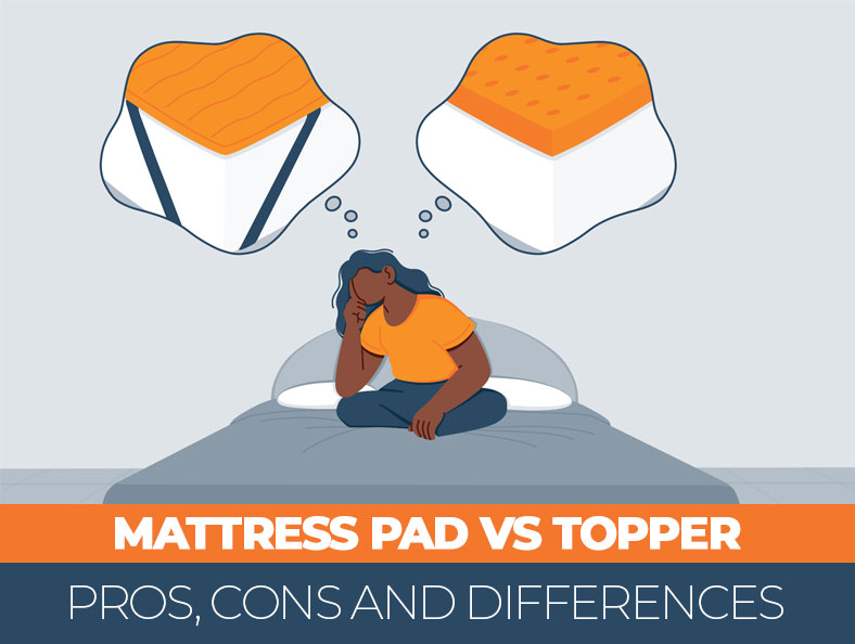 What's the Difference Between Mattress Pad and Mattress Topper