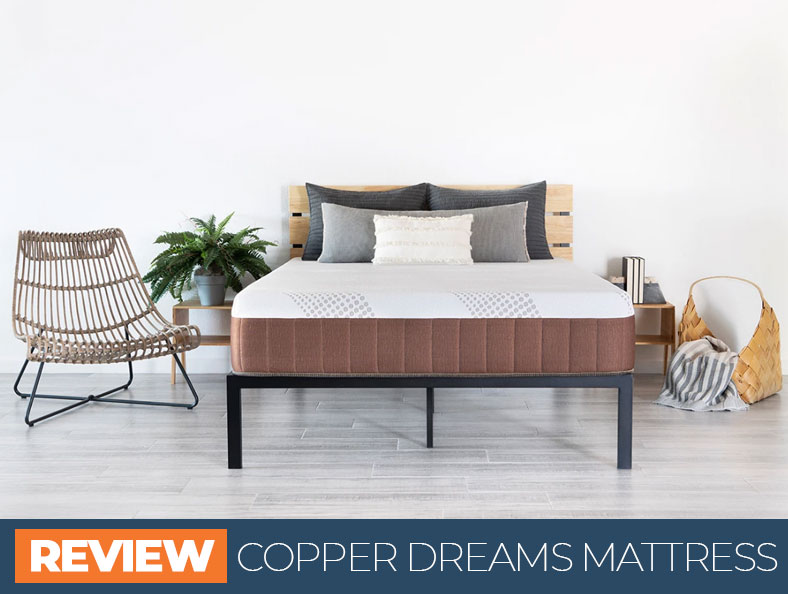 our overview of copper dreams bed