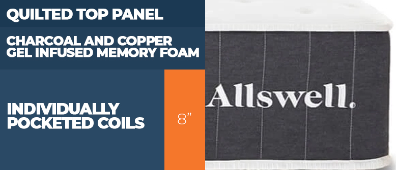 Allswell Mattress Construction Layers