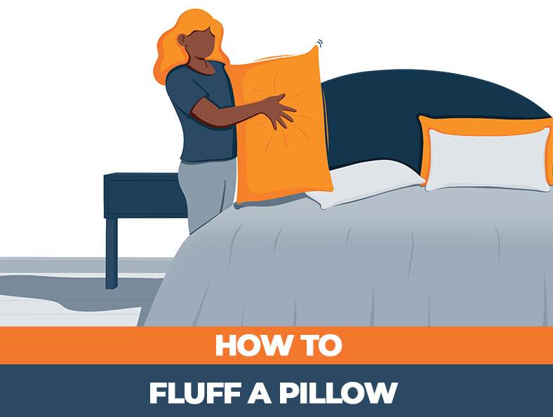 how to make your pillow more fluffy