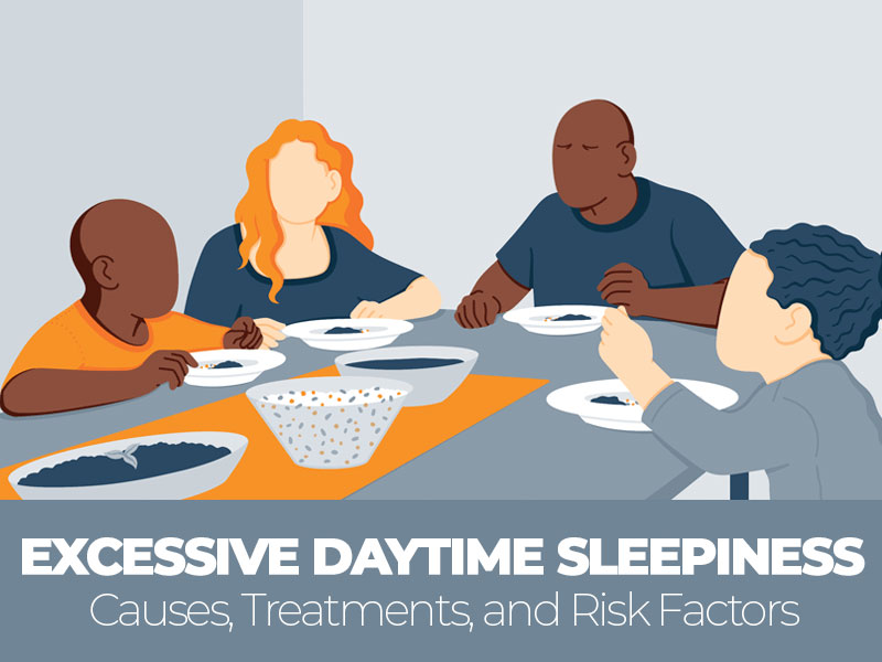 Causes Treatments and Risk Factors of Excessive Daytime Sleepiness