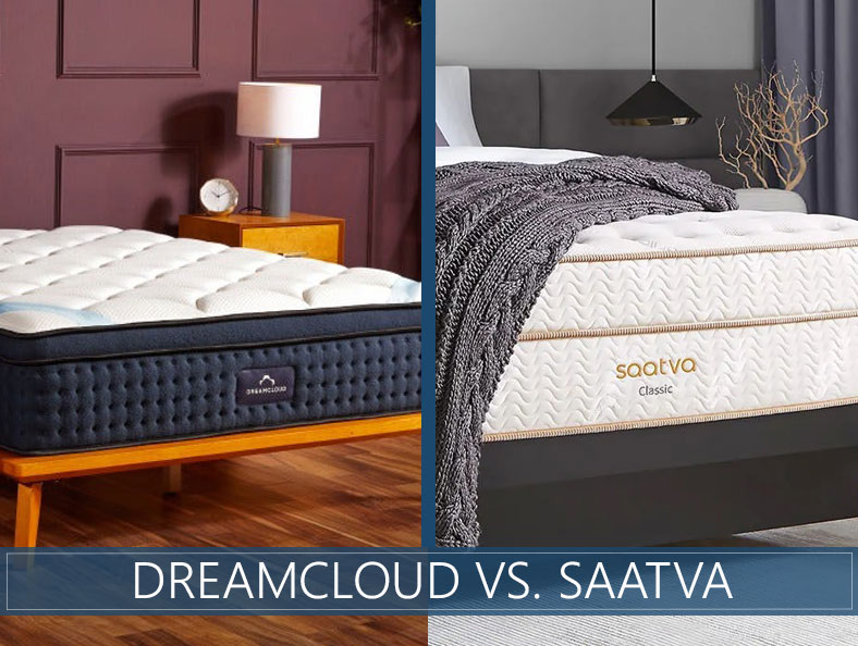 our comparison of saatva and dreamcloud