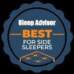 for side sleepers badge