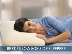 Best Pillow For Side Sleepers.Best Pillow For Side Sleepers In 2019 Our Reviews And Buyer S Guide