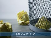 how to clean a super messy room fast