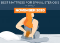 Highest Rated Mattresses for Spinal Stenosis – Updated for 2020