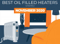 6 Top Rated Oil Filled Heaters for 2020 – Our Ratings and Reviews